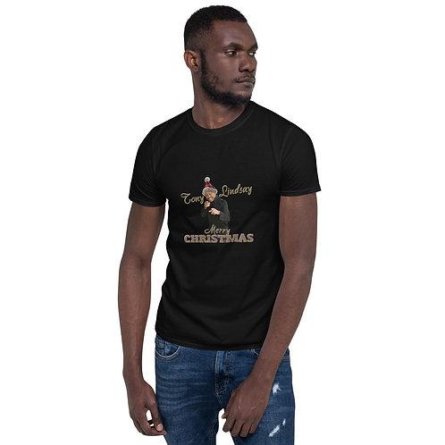 Short-Sleeve Men T-Shirt Merry Christmas Tony Lindsay
