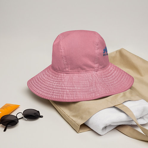 Wide brim bucket hat All is one—My people we are one