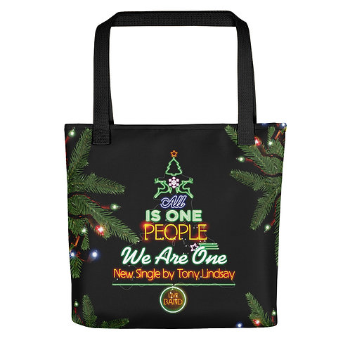 "Tote bag ""LIVE BAND. All Is One Christmas Tree"""