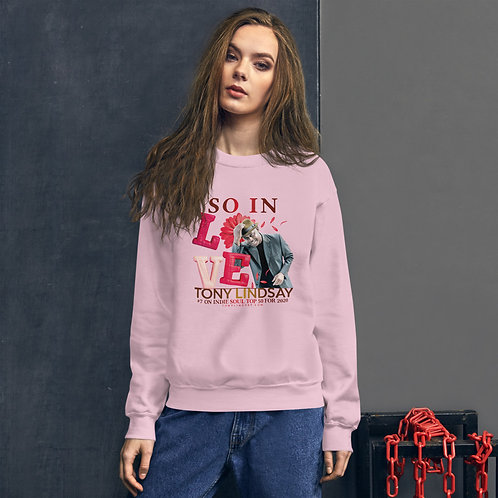"Women Sweatshirt ""So In Love"" Tony Lindsay"