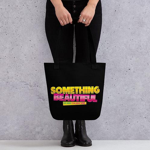 Tote bag 'Something Beautiful - Tony Lindsay'