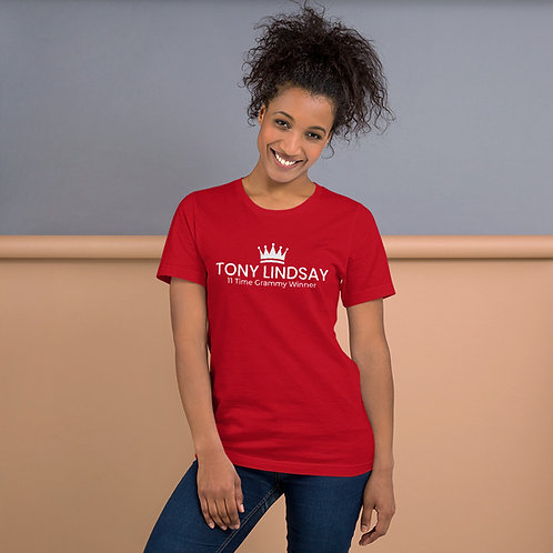 Short-Sleeve Women T-Shirt 'Tony Lindsay' 11 Time Grammy Winner