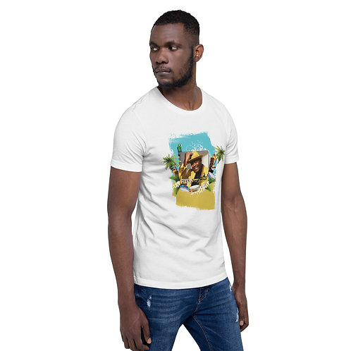 Men Short-Sleeve T-Shirt Fixed By Tony Lindsay Tropical Drums