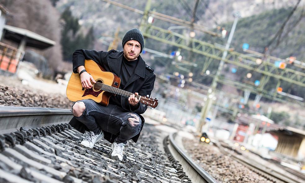 Portrait Gitarrist