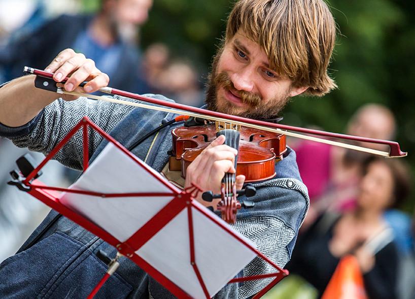 Straßenkünstlerfestival in Wien