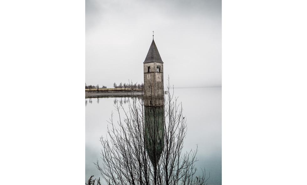 Reschensee Turm