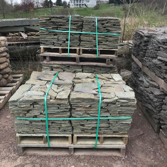 Grey/Green Thin Colonial 1/2 Pallets