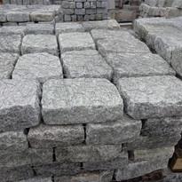 Jumbo Grey Granite Cobble