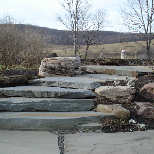Colonial/Flagstone Steppers & PA Fieldstone Boulders