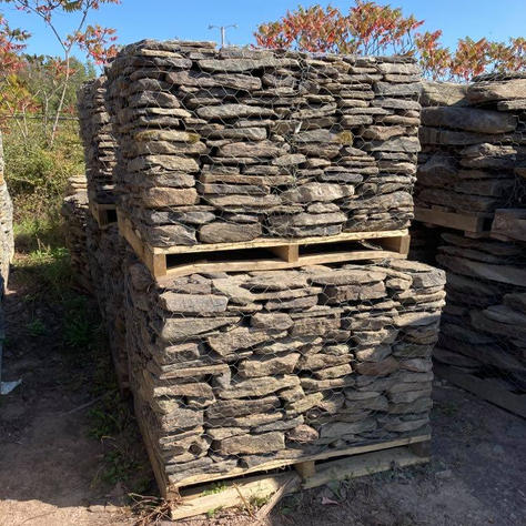 Thin Creekstone Wall