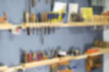 Organized tool rack