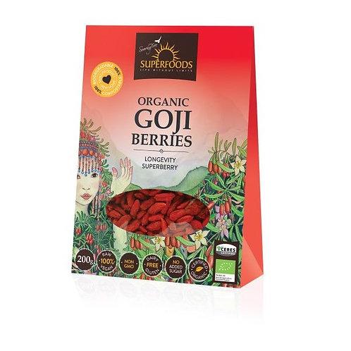 Organic Goji Berries - Soaring Free Superfoods