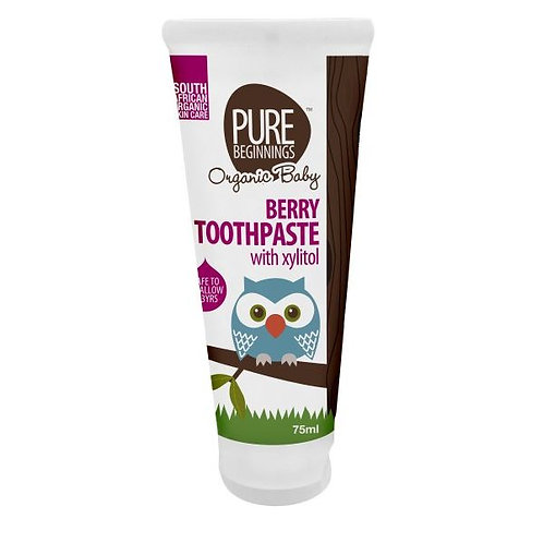 Berry Toothpaste (for Babies) - Pure Beginnings