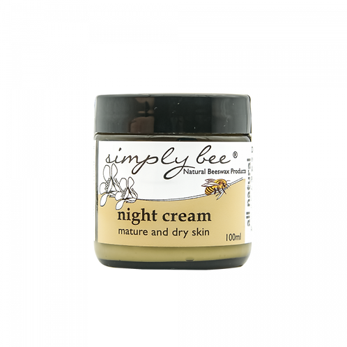 Night Cream for Mature & Dry Skin - Simply Bee
