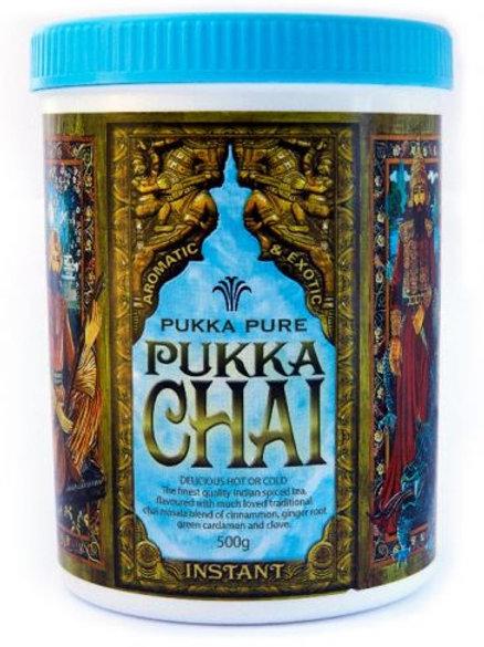 Instant Chai Tea 500g - Pukka Pure