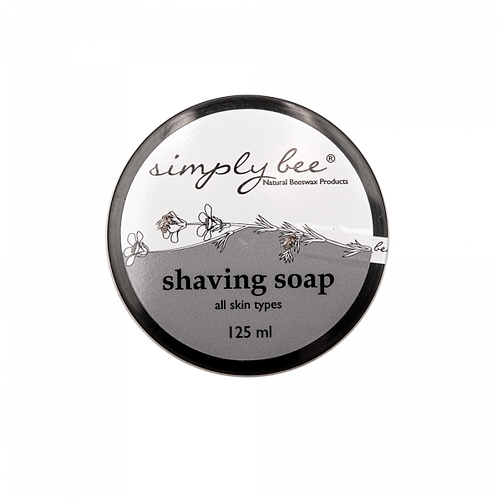 Shaving Soap 125ml - Simply Bee
