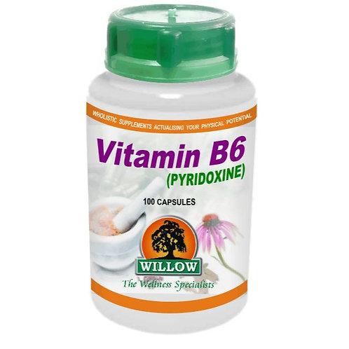 Vitamin B6 Capsules - Willow