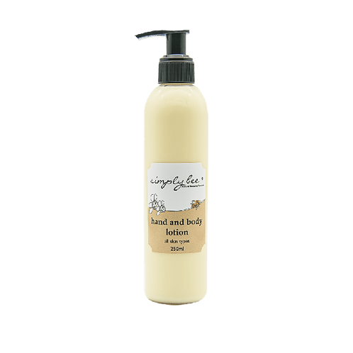 Hand & Body Lotion - Simply Bee