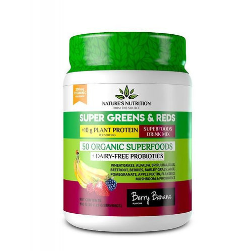 Berry Banana Superfood Drink Mix - Nature's Nutrition