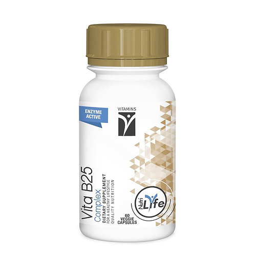 Vita B25 Complex Capsules - Nutri Life