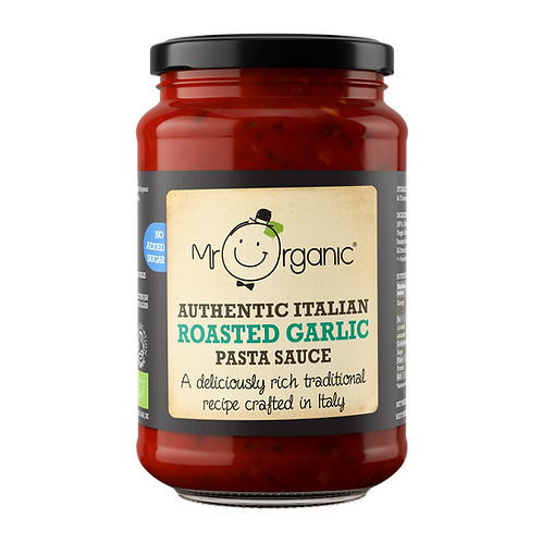 Roasted Garlic Pasta Sauce - Mr Organic