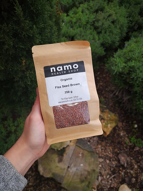 Organic Brown Flax Seeds - Namo Health
