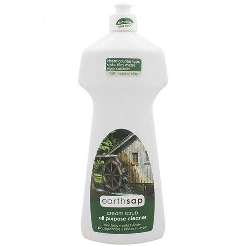 All Purpose Cream Scrub Cleaner - Earth Sap