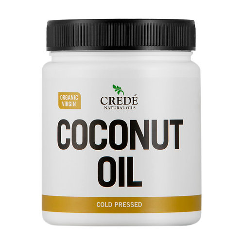 Organic Virgin Cold Pressed Coconut Oil - Crede