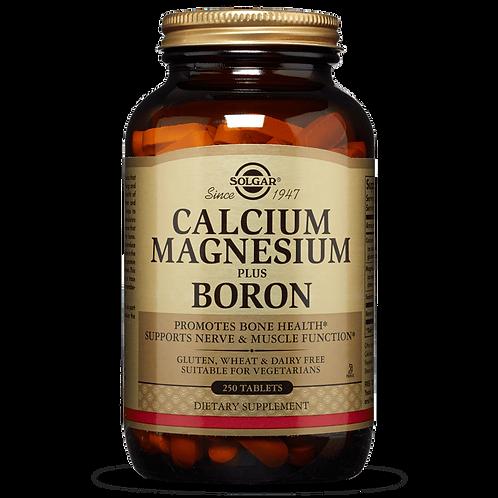 Calcium, Magnesium & Boron 100 Tablets - Solgar