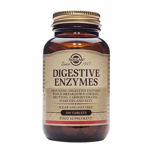 Digestive Enzymes 100 Tablets - Solgar
