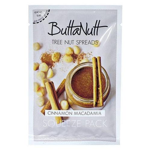 Cinnamon Macadamia Squeeze Pack - Buttanutt