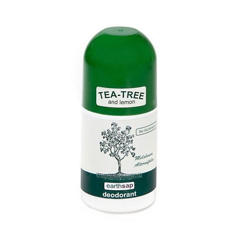 Tea Tree & Lemon Roll On Deodorant - Earth Sap