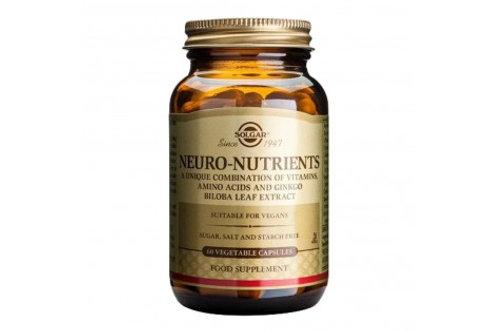 Neuro Nutrients 30 Capsules - Solgar