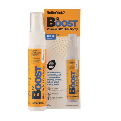 B12 Boost Oral Spray - Better You