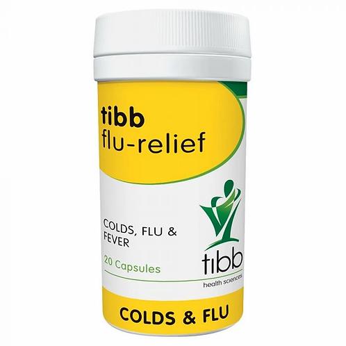 Flu Relief 20 Capsules - Tibb