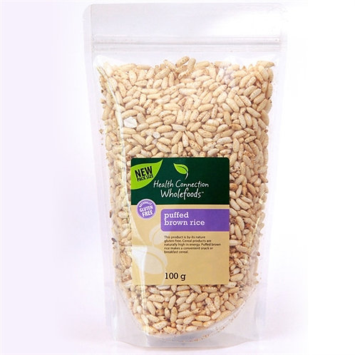 Puffed Brown Rice 100g - Health Connection