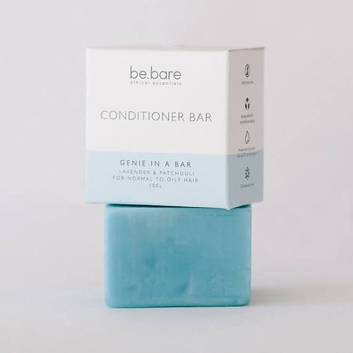 Genie in a Bar Conditioner Bar 100g - Be Bare