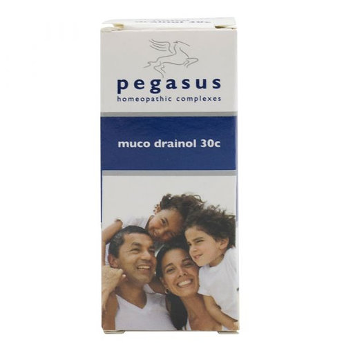 Muco Drainol Sublingual Tablets - Pegasus