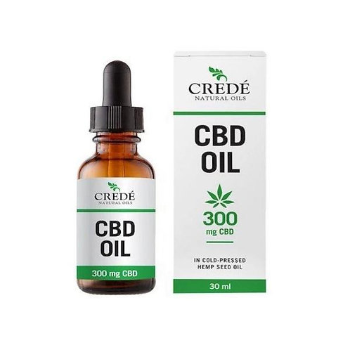 CBD Oil 300mg 30ml - Crede