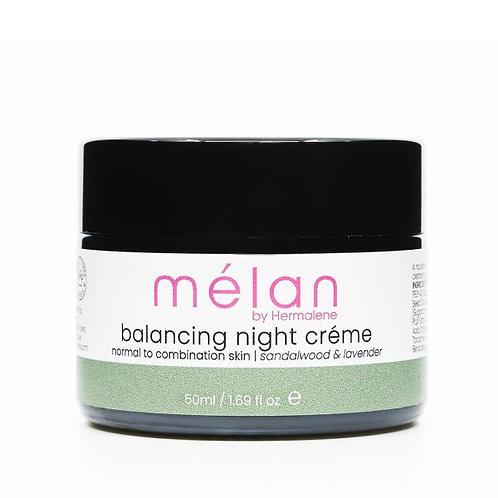 Balancing Night Cream - Mélan