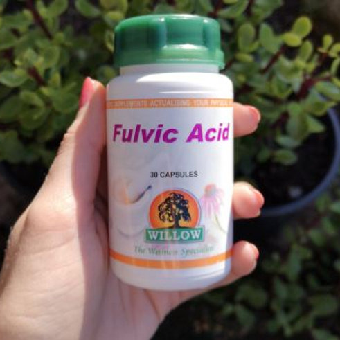 Fulvic Acid Capsules - Willow