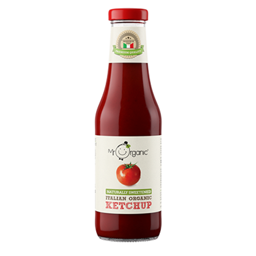 Organic Italian Ketchup Naturally Sweetened - Mr Organic