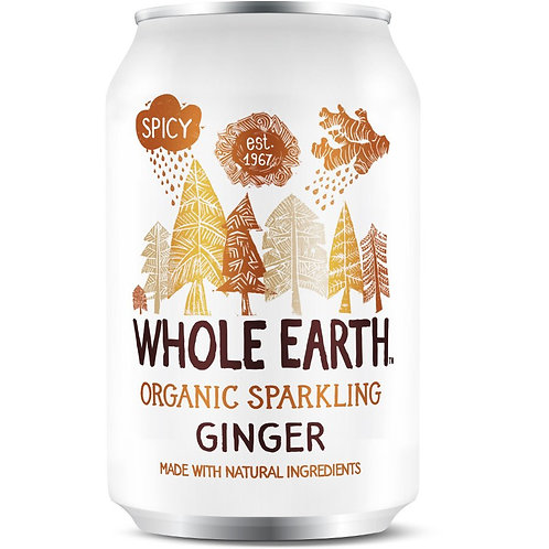 Organic Sparkling Ginger Drink - Whole Earth