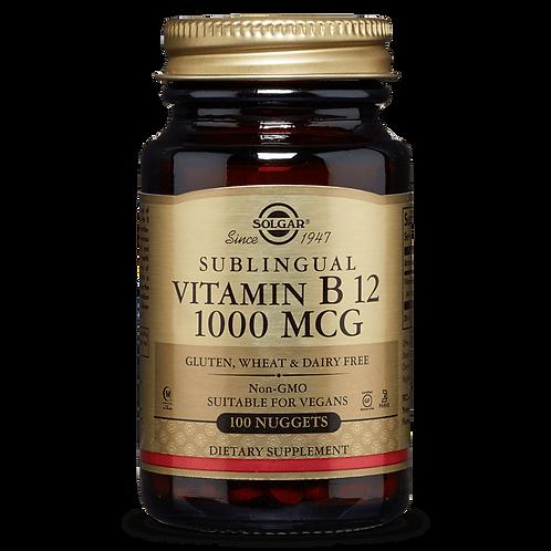 Vitamin B12 100 Chewable Sublingual Nuggets - Solgar