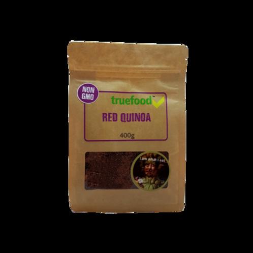 Red Quinoa 400g - Truefood