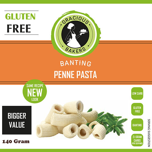 Banting Penne Pasta - Gracious Bakers