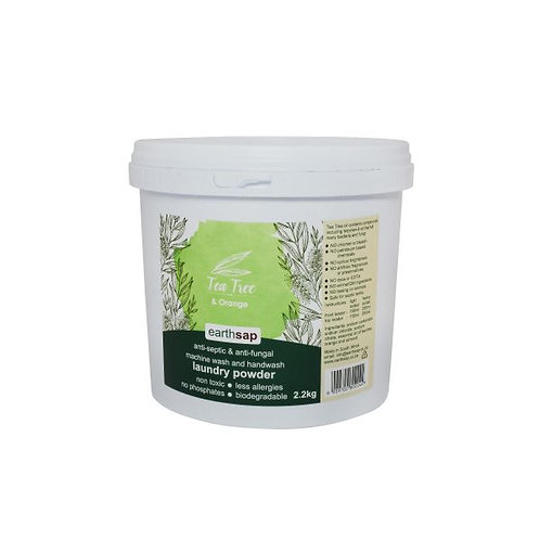 Tea Tree & Orange Laundry Powder - Earth Sap