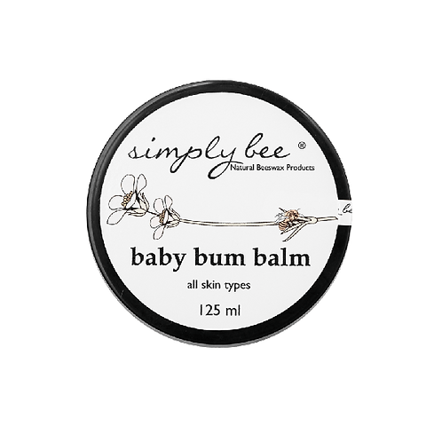 Baby Bum Balm 125ml - Simply Bee