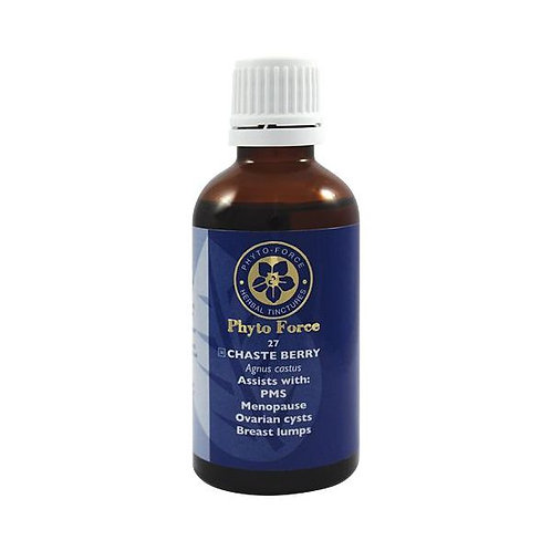 Chaste Berry Tincture 50ml - Phyto Force