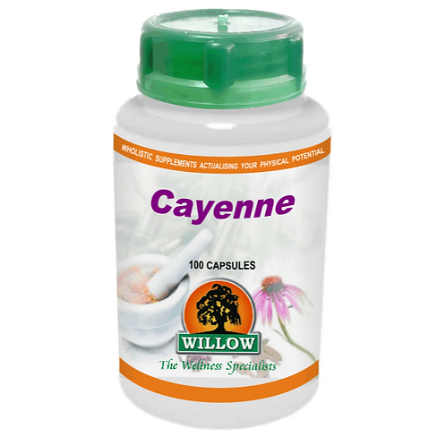 Cayenne Capsules - Willow